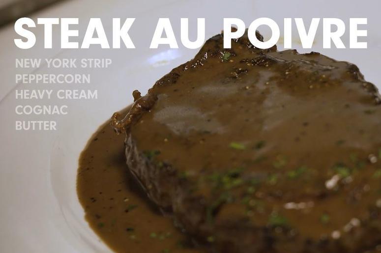 Ocean Prime's Steak Au Poivre