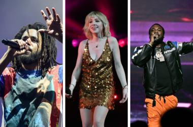 J Cole, Carly Rae Jepsen and Meek Mill