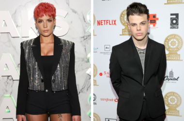 Halsey and YUNGBLUD