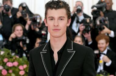 Shawn Mendes at the Met Gala