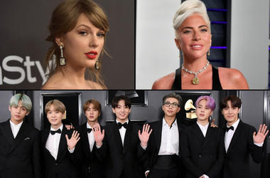 Taylor Swift x Lady Gaga x BTS