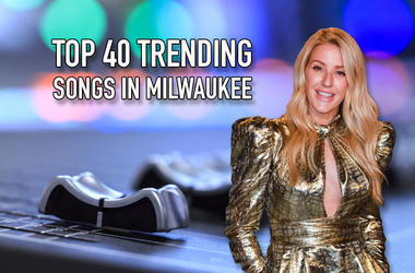 Ellie Goulding on the Top 40 Trending Songs in Milwaukee
