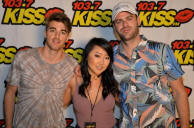 """Chainsmokers Backstage at """"KISS The Summer Goodbye"""""""