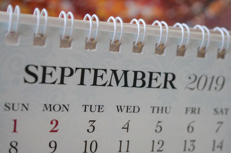 September 2019