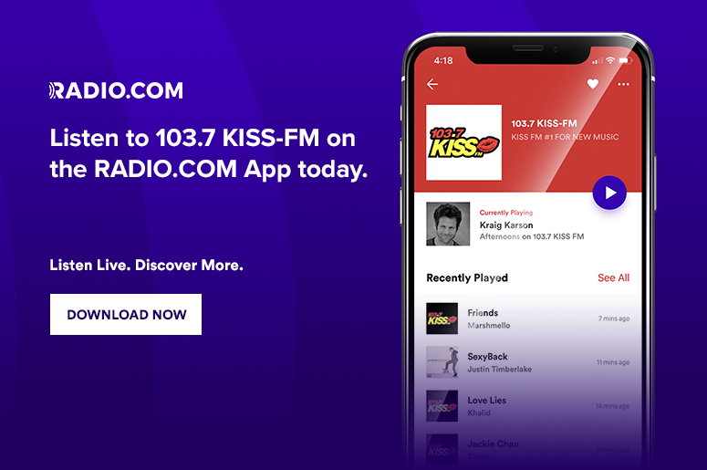 103 7 KISS-FM - Milwaukee Pop Music - WXSS-FM   Radio com