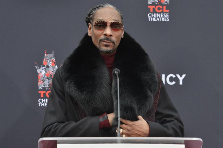 Snoop Dogg in Hollywood, CA on November 27, 2018