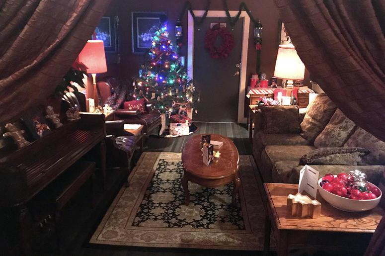 Tin Widow backroom