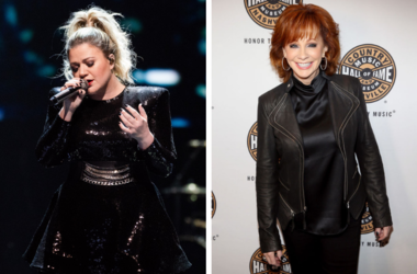Kelly Clarkson and Reba McEntire