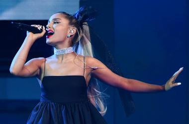 LAS VEGAS, NV - MAY 20: Ariana Grande performs at the 2018 Billboard Music Awards at MGM Grand Garden Arena on May 20, 2018 in Las Vegas, Nevada.