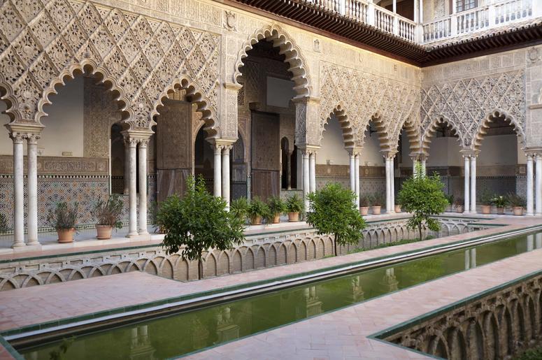 Alcazar Palace Sevilla Spain