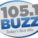 Logo 105.1 The Buzz - Today's Best Mix