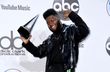 Khalid. 2018 American Music Awards