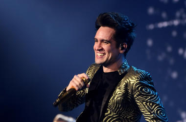 Brendon Urie of Panic! at the Disco performs during the 'PRAY FOR THE WICKED' tour at Golden 1 Center on February 20, 2019 in Sacramento, California