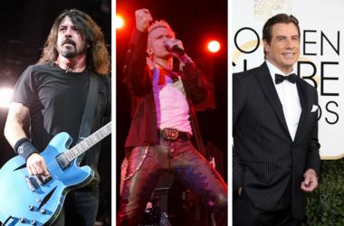 Dave Grohl, Billy Idol, John Travolta