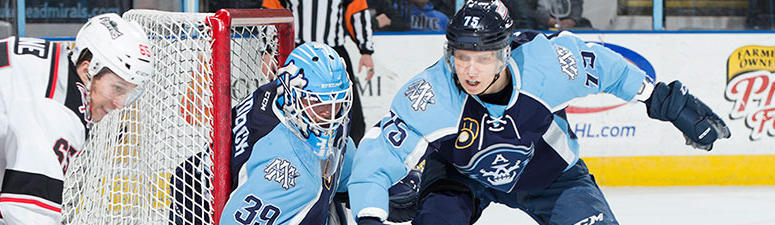 Admirals Drop Tough Loss to Griffins 2-1