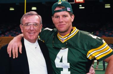 Ron Wolf and Brett Favre