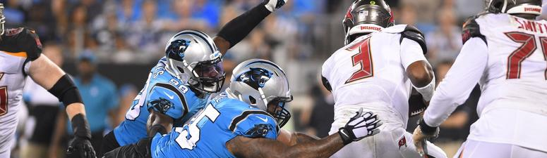 Wilson: the Panthers' defense gets after opposing QBs
