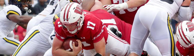 Badgers bulldoze Michigan