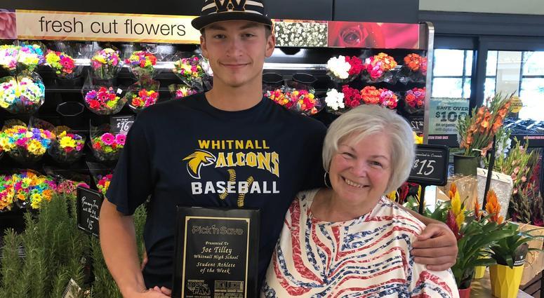 Joe with his Grandma Julia Stasiewicz