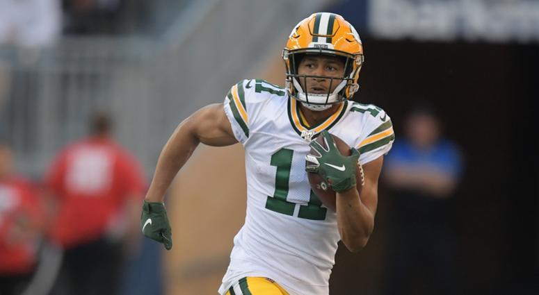 Traded. Davis' days in Green Bay are over