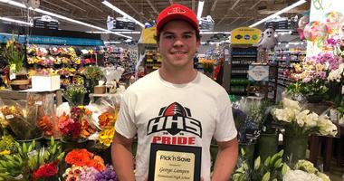 Pick 'n Save Student Athlete of the Week George Lampen