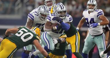 Zeke Elliott vs the Packers run defense