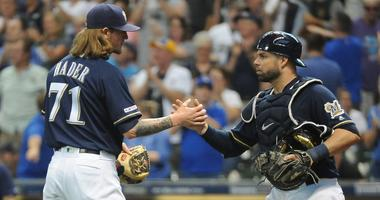 Brewers take 3 of 4 from Padres
