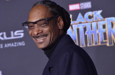 "Snoop Dogg arrives at the Marvel Studios' ""Black Panther"" Los Angeles Premiere held at The Dolby Theatre in Hollywood, CA"