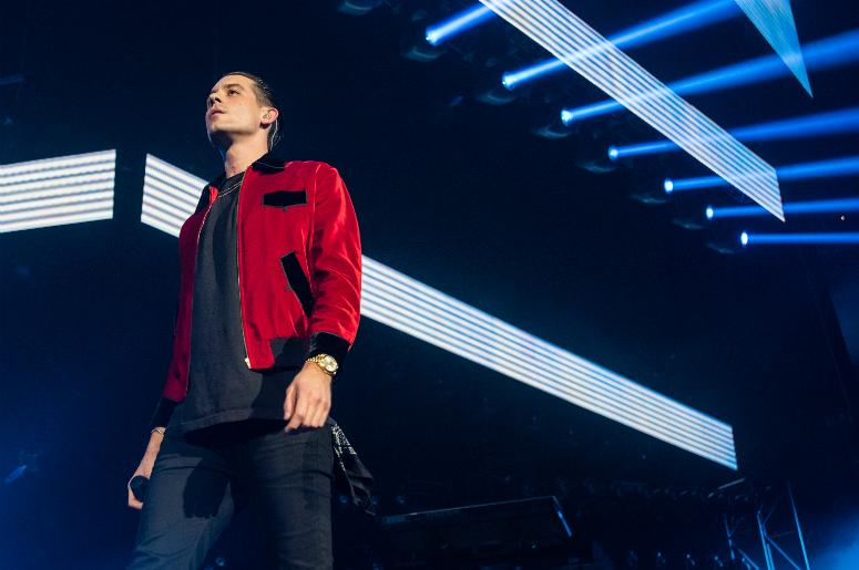 Gerald Gillium a.k.a. G-Eazy performs at Oracle Arena on December 14, 2016 in Oakland, California.
