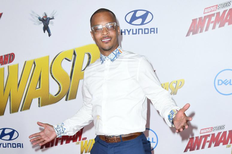 """25 June 2018 - Hollywood, California - Tip """"T.I."""" Harris. """"Ant-Man and The Wasp' Los Angeles Premiere held at theEl Capitan Theatre."""