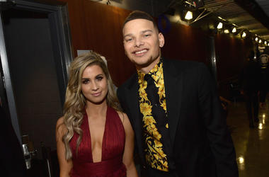 Katelyn Jae and Kane Brown backstage during the 61st Annual GRAMMY Awards at Staples Center on February 10, 2019 in Los Angeles, California
