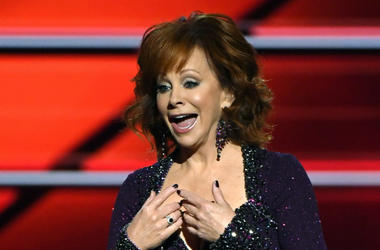 Reba McEntire hosts the 53rd Academy of Country Music Awards at MGM Grand Garden Arena on April 15, 2018