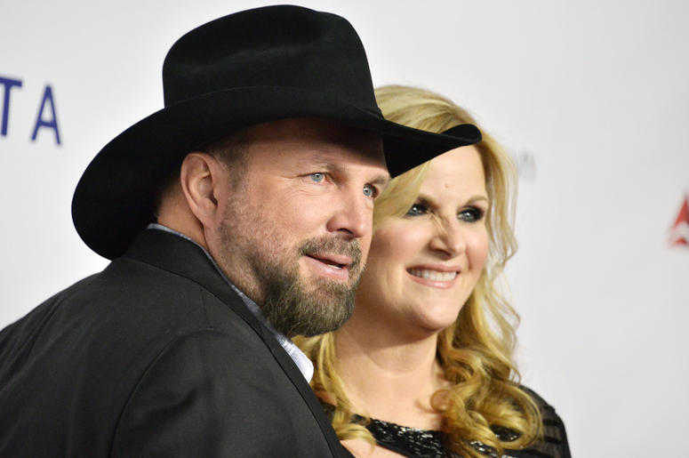 Garth Brooks and Trisha Yearwood at the 2019 MusiCares Person Of The Year Honoring Dolly Parton held at the Los Angeles Convention Center in Los Angeles, CA