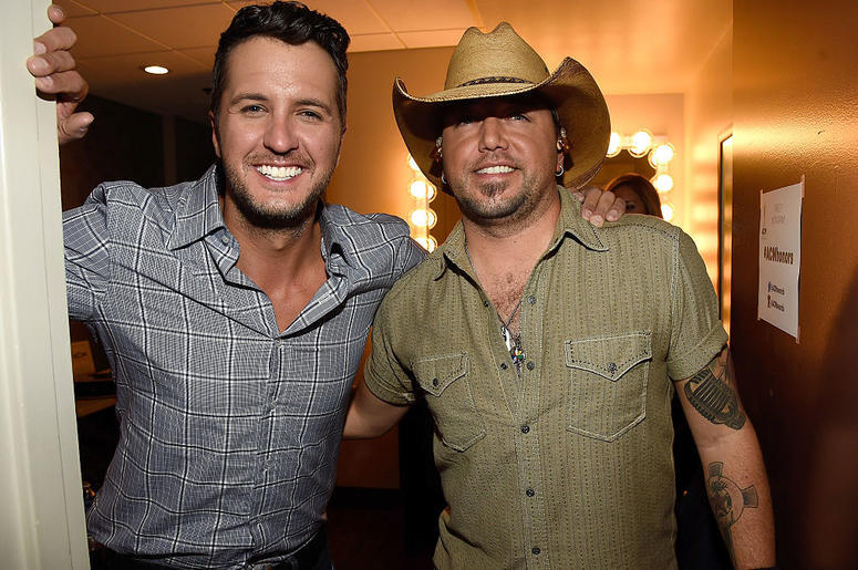 Luke Bryan and Jason Aldean
