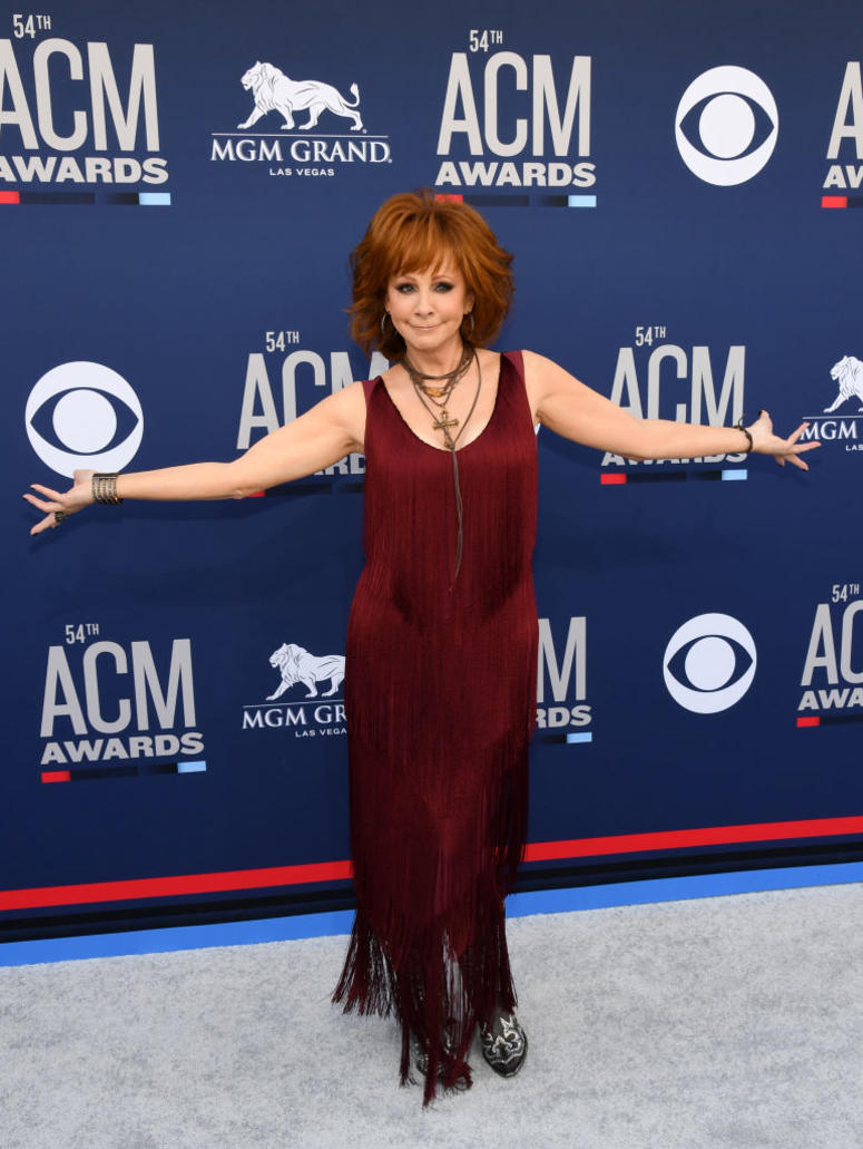 Reba McEntire attends the 54th Academy Of Country Music Awards at MGM Grand Hotel & Casino on April 07, 2019 in Las Vegas, Nevada