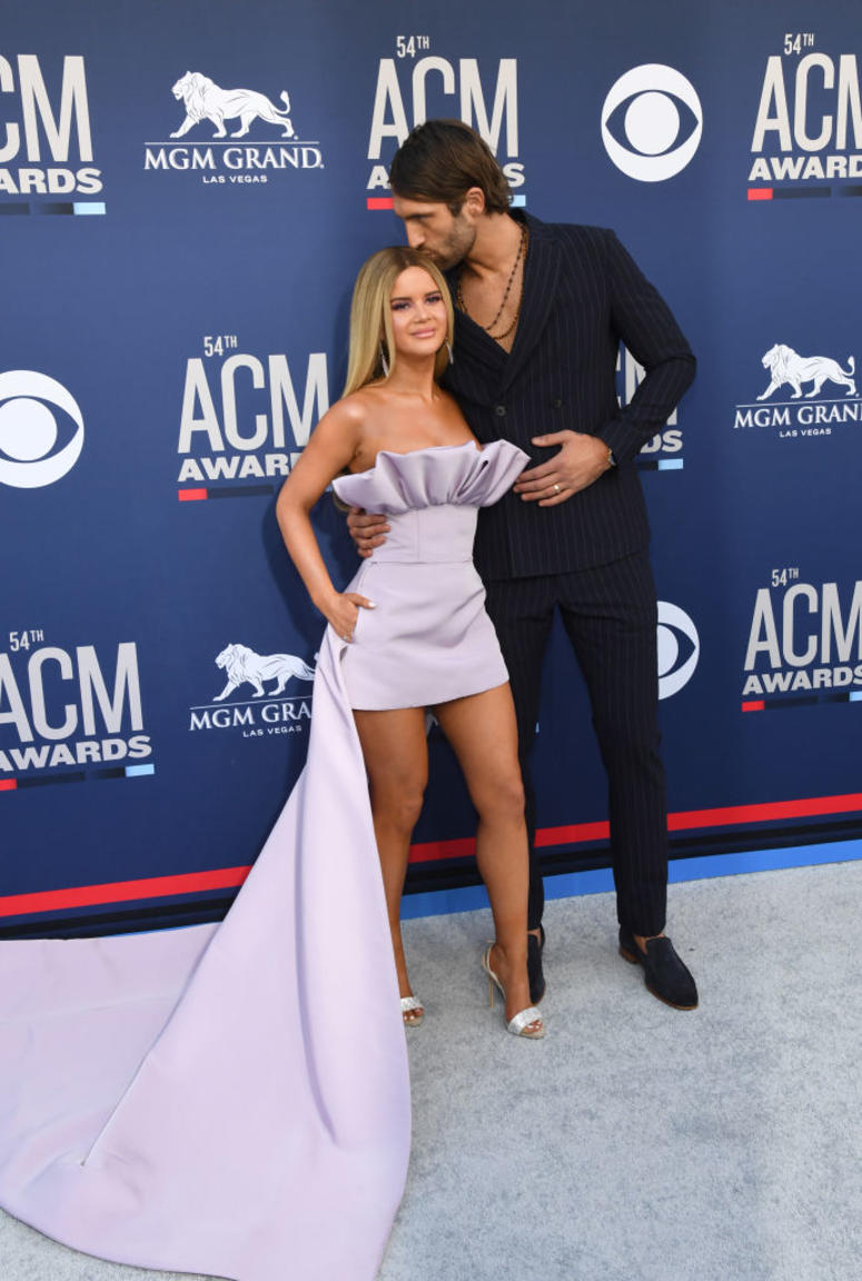 Maren Morris attends the 54th Academy Of Country Music Awards at MGM Grand Hotel & Casino on April 07, 2019 in Las Vegas, Nevada