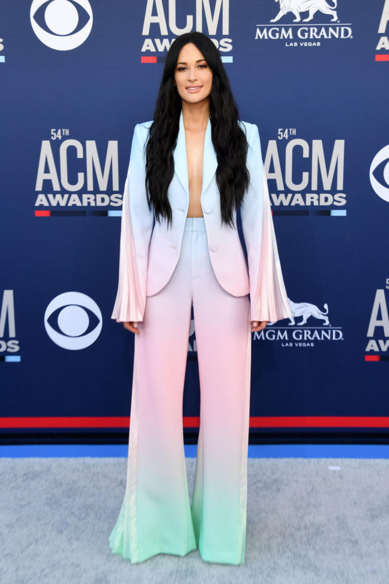 Kacey Musgraves attends the 54th Academy Of Country Music Awards at MGM Grand Hotel & Casino on April 07, 2019 in Las Vegas, Nevada