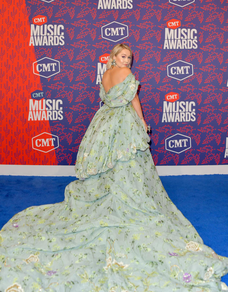 RaeLynn attends the 2019 CMT Music Awards at Bridgestone Arena on June 05, 2019 in Nashville, Tennessee