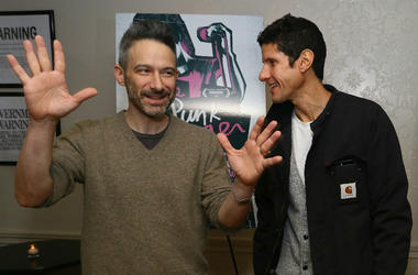 Adam Horovitz and Michael Diamond of The Beastie Boys