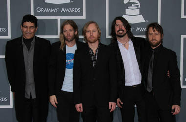Foo Fighters at the 54th Annual Grammy Awards, Staples Center, Los Angeles, CA 02-12-12