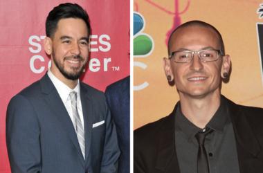 Linkin Park's Mike Shinoda and Chester Bennington