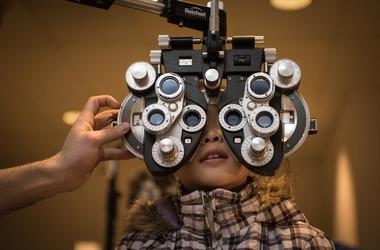 I loved the eye tester robot looking thing as a kid!
