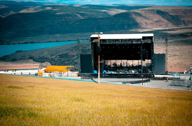 Sadly, this is what The Gorge will look like this Memorial Day Weekend