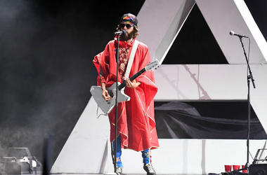 Jared Leto of Thirty Seconds to Mars