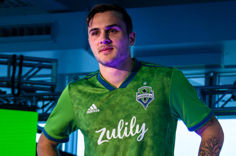 separation shoes e57b4 afe89 Seattle Sounders FC Debut New Shirt with Zulily Sponsor ...