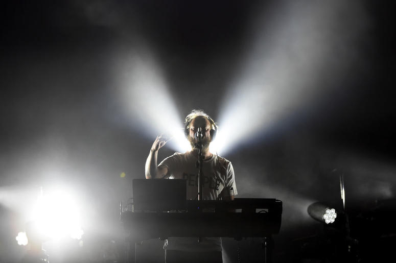 Musician Justin Vernon of Bon Iver performs during day 2 of the 2017 Coachella Valley Music & Arts Festival (Weekend 2) at the Empire Polo Club on April 22, 2017 in Indio, California