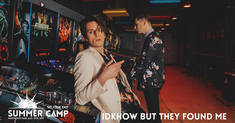 iDKHOW But The Found Me at The End Summercamp 2019