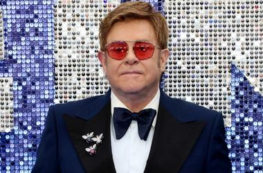 Elton John at Rocketman premiere