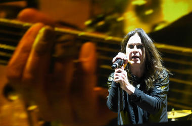 Ozzy Osbourne of Black Sabbath performs at Ozzfest 2016