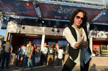 Paul Stanley of KISS in attendance to celebrate the opening of the new Rock & Brews restaurant at Stub Hub Center